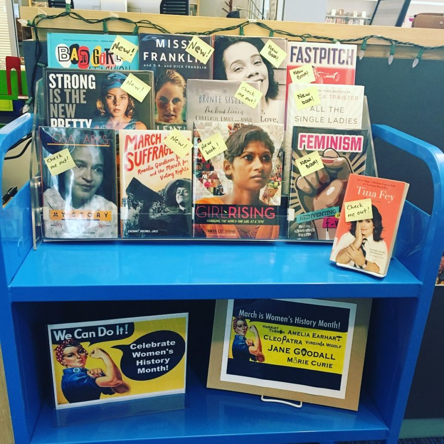 Celebrating Women's History Month @ Yorktown Library