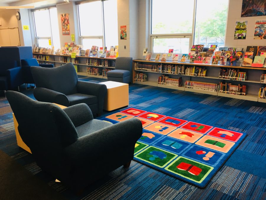 Comfy Seating @ Yorktown Library