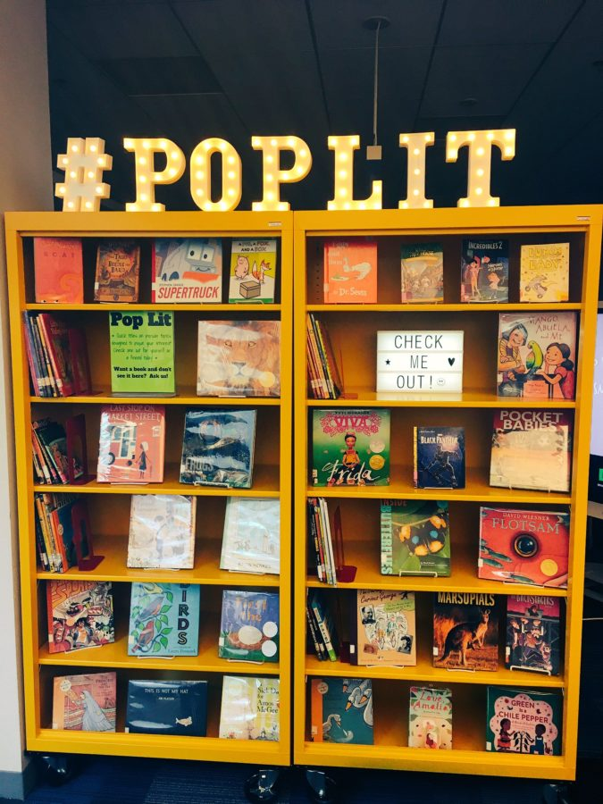#PopLit @yhs_library