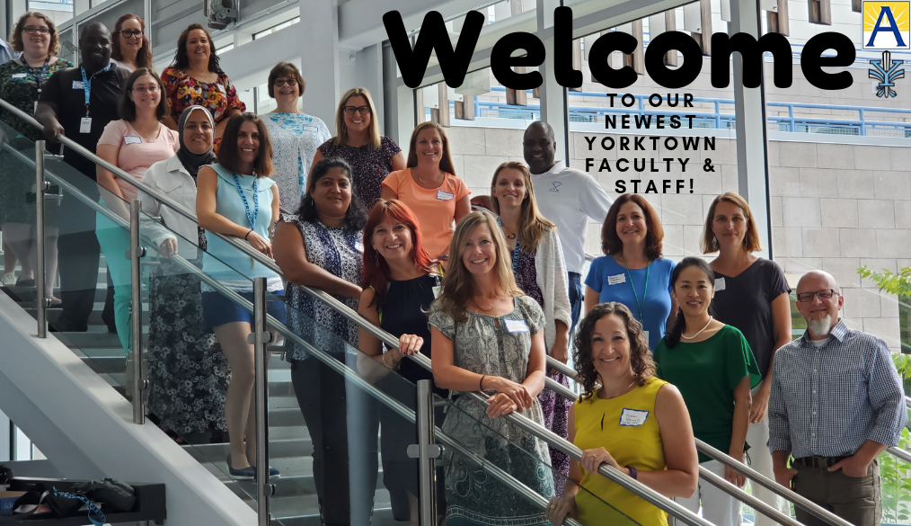 Welcome to our newest YHS Faculty & Staff!