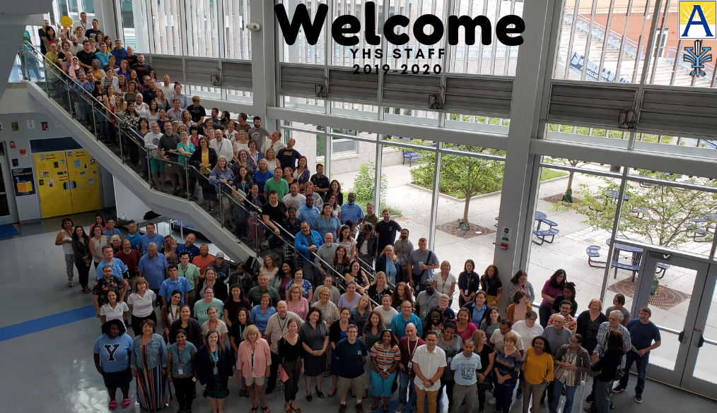 Welcome to our YHS Faculty & Staff!