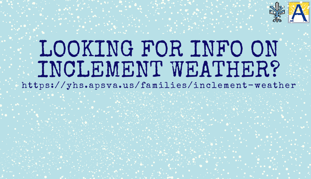 Inclement Weather?