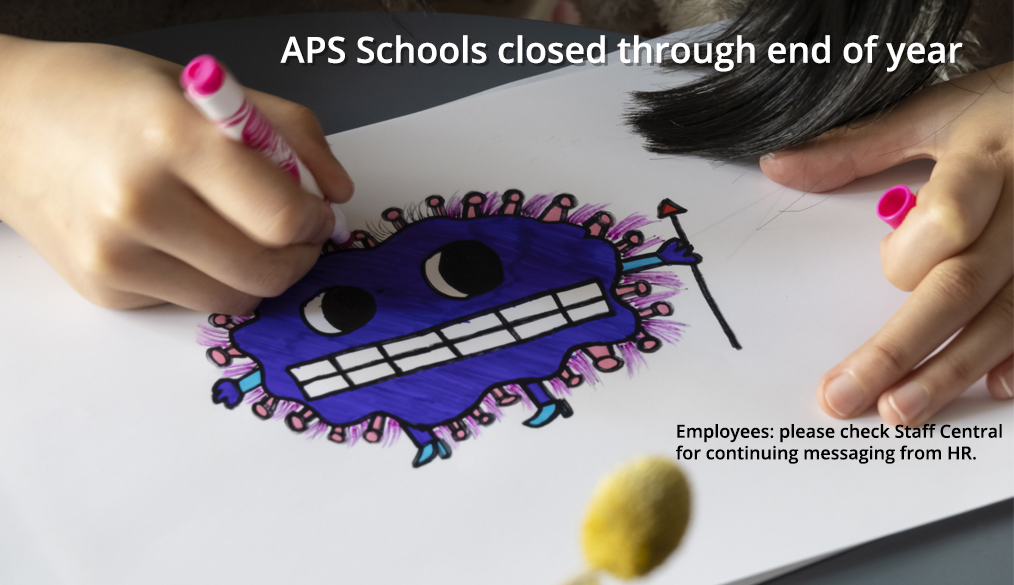 COVID-19 Update: APS Schools closed through the end of the year