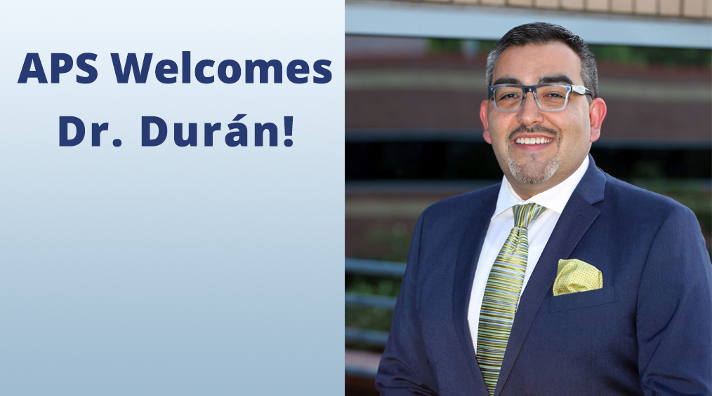 Welcome Dr. Durán!