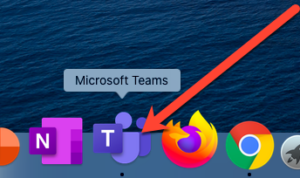 Abra Microsoft Teams