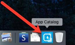 Open the App Catalog