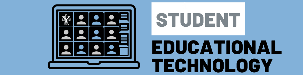 Encabezado de tecnología educativa para estudiantes