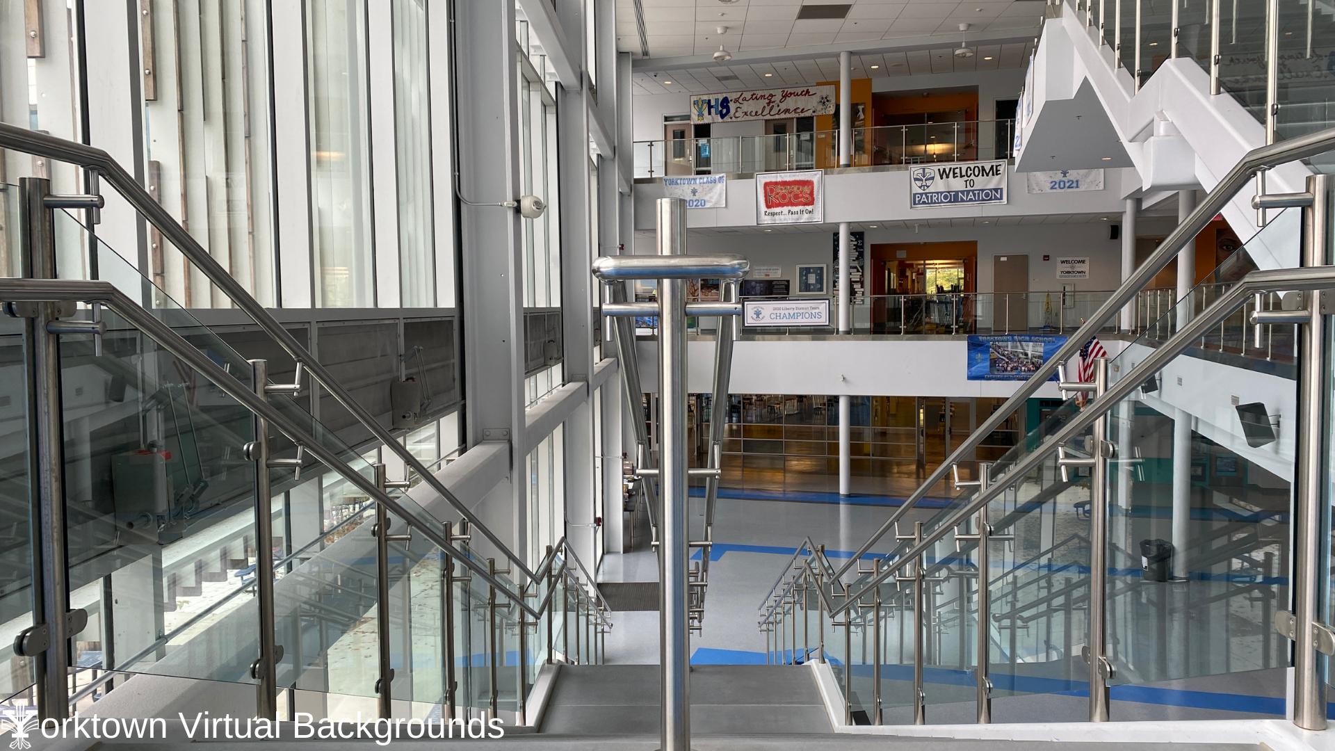 YHS Teams Background Atrium Stairs 1