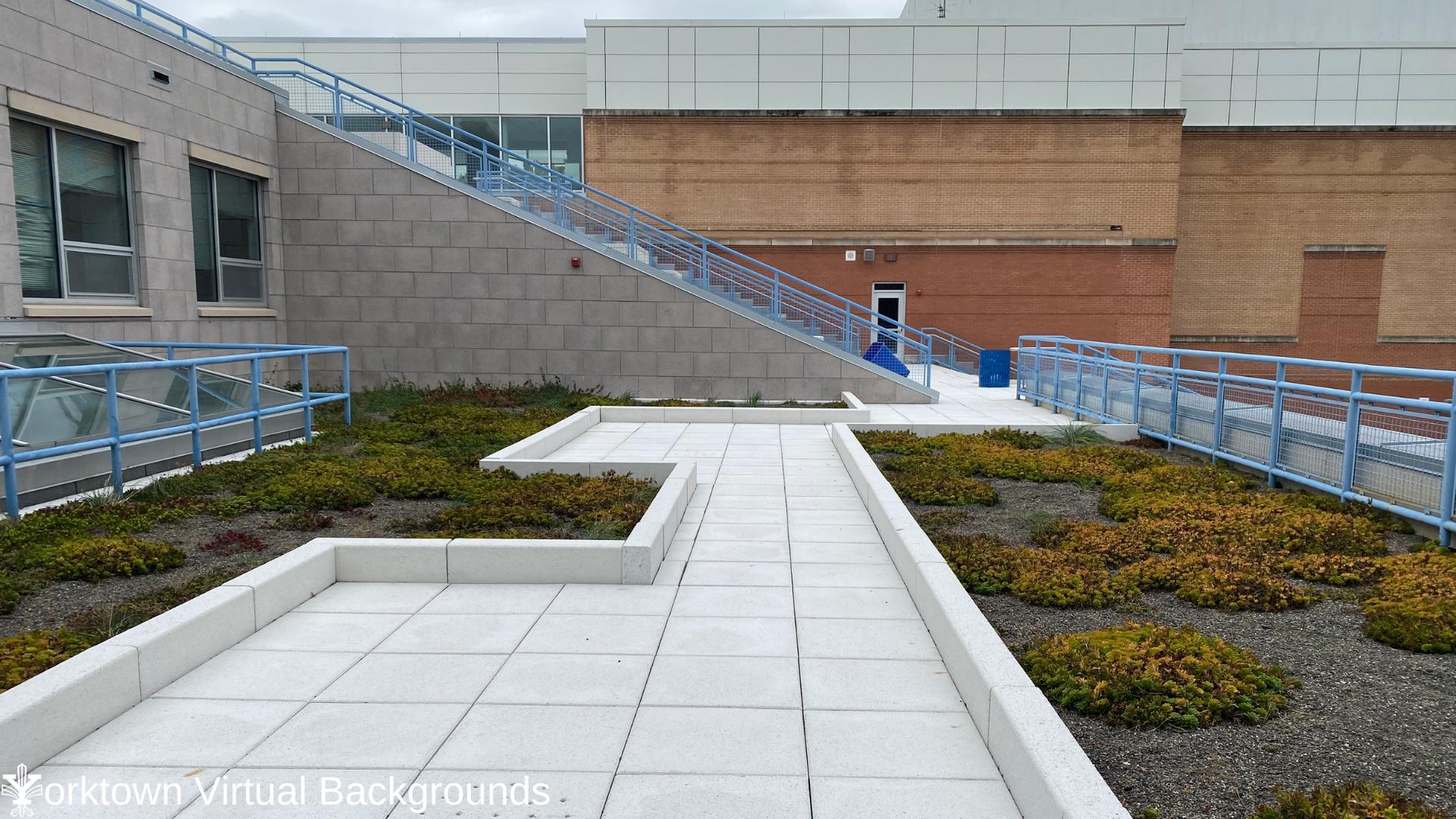 YHS Teams Background Courtyard 1