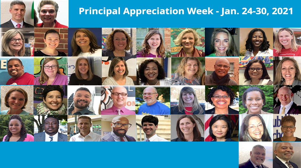Thank you Dr. Clark & all our APS Principals!