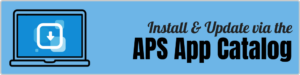 Install & Update via the APS App Catalog - Header
