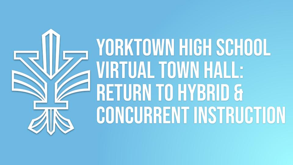 Return to Hybrid and Concurrent Town Hall & School Talk