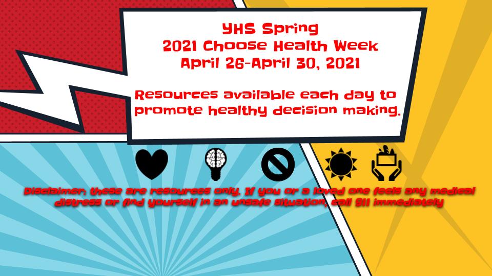 Choose Health Week – Coming Next Week!