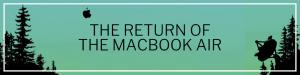 El regreso de - Encabezado del sitio web