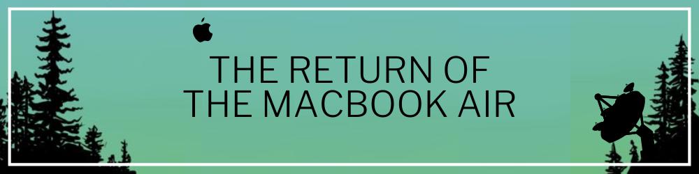 The Return of - Website Header