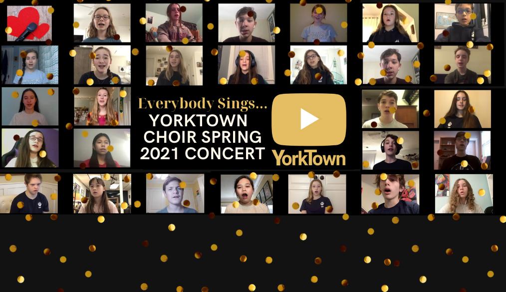 Venha ver todo mundo cantando ...