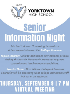 senior night class of 2022