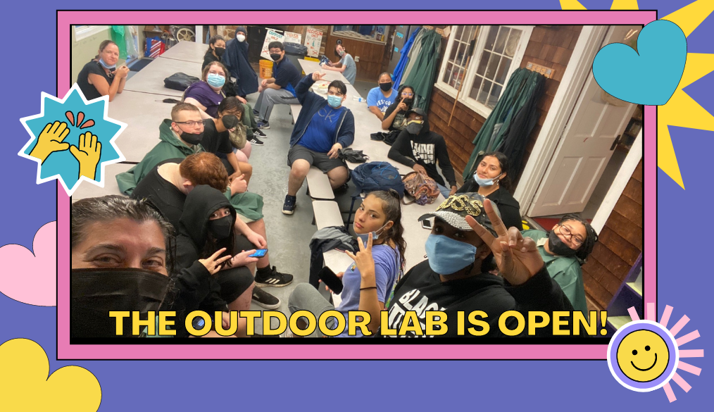 The Outdoor Lab is Open!